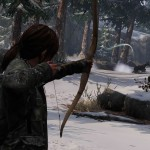 1406532153 ellie aims bow at animal 150x150 the last of us