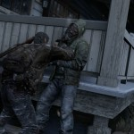1406532261 joel pins cannibal to wall 150x150 the last of us