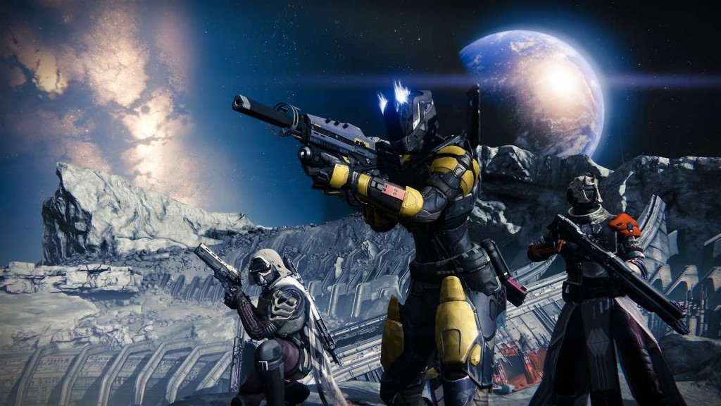 500mil budget game Destiny screens