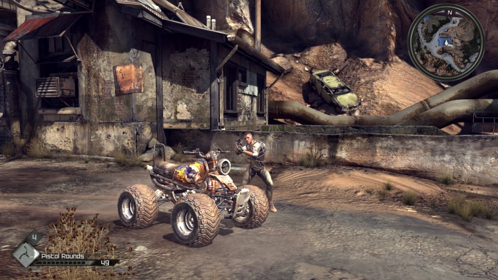 Rage is a first-person shooter video game