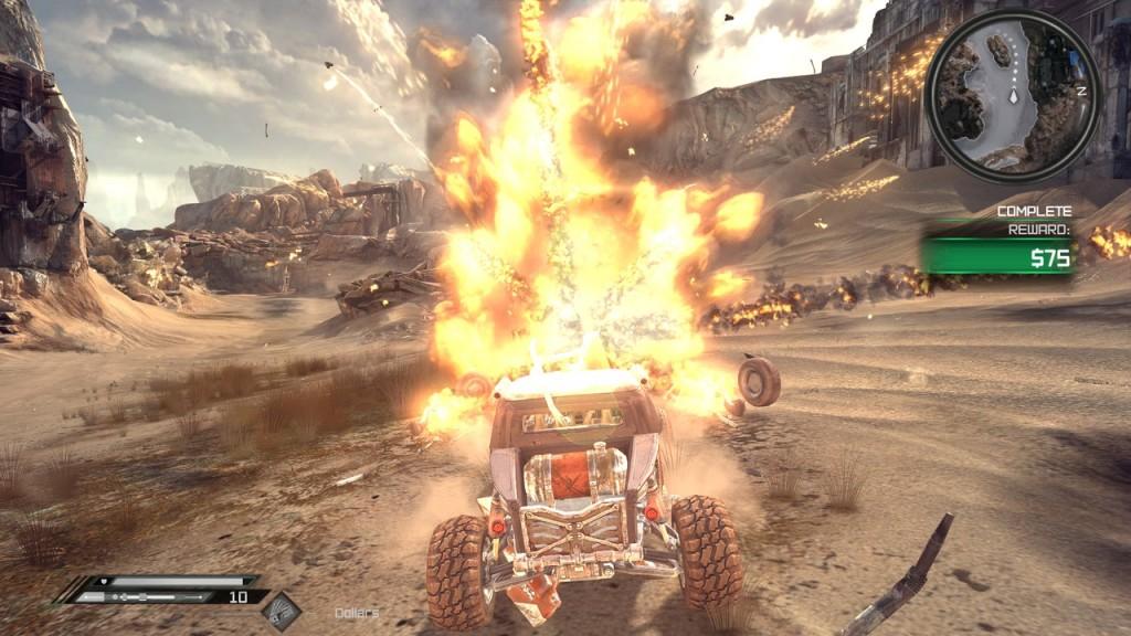 Rage explosion screen shot
