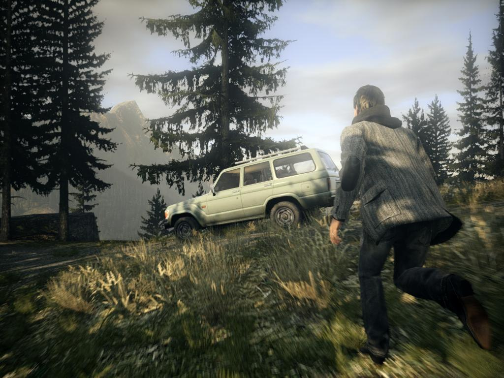 Alan Wake game best screenshots of exterior by day