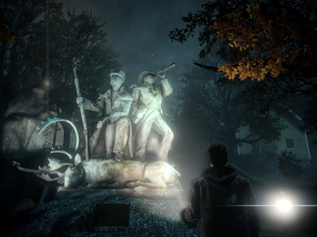 Alan Wake Game screen