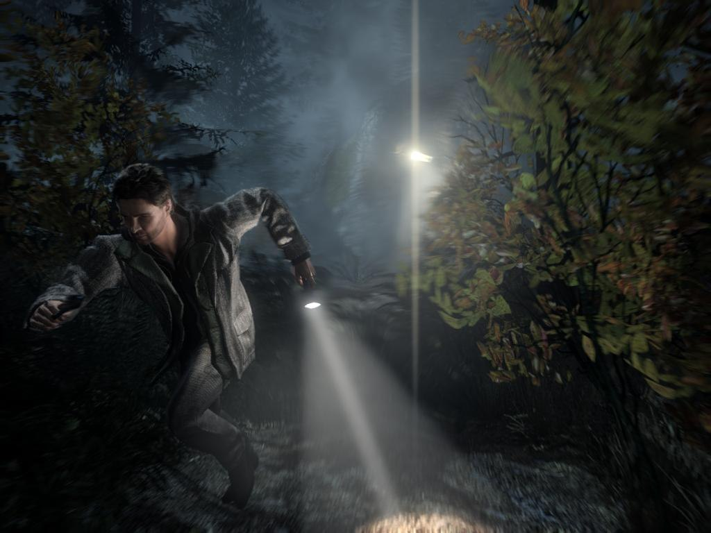 Alan Wake survival horror video game