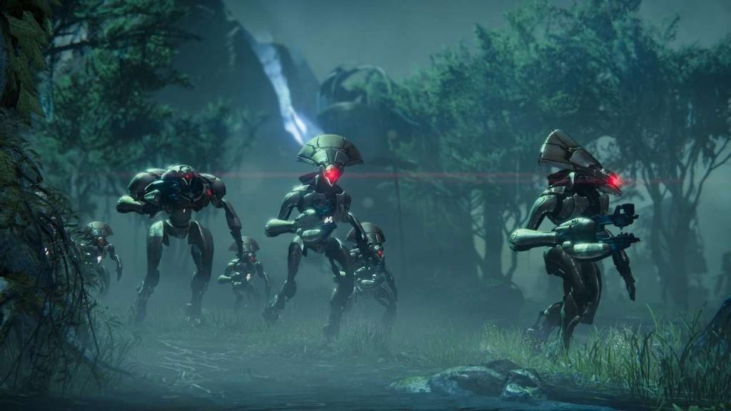 aliens of new sci fi game Destiny